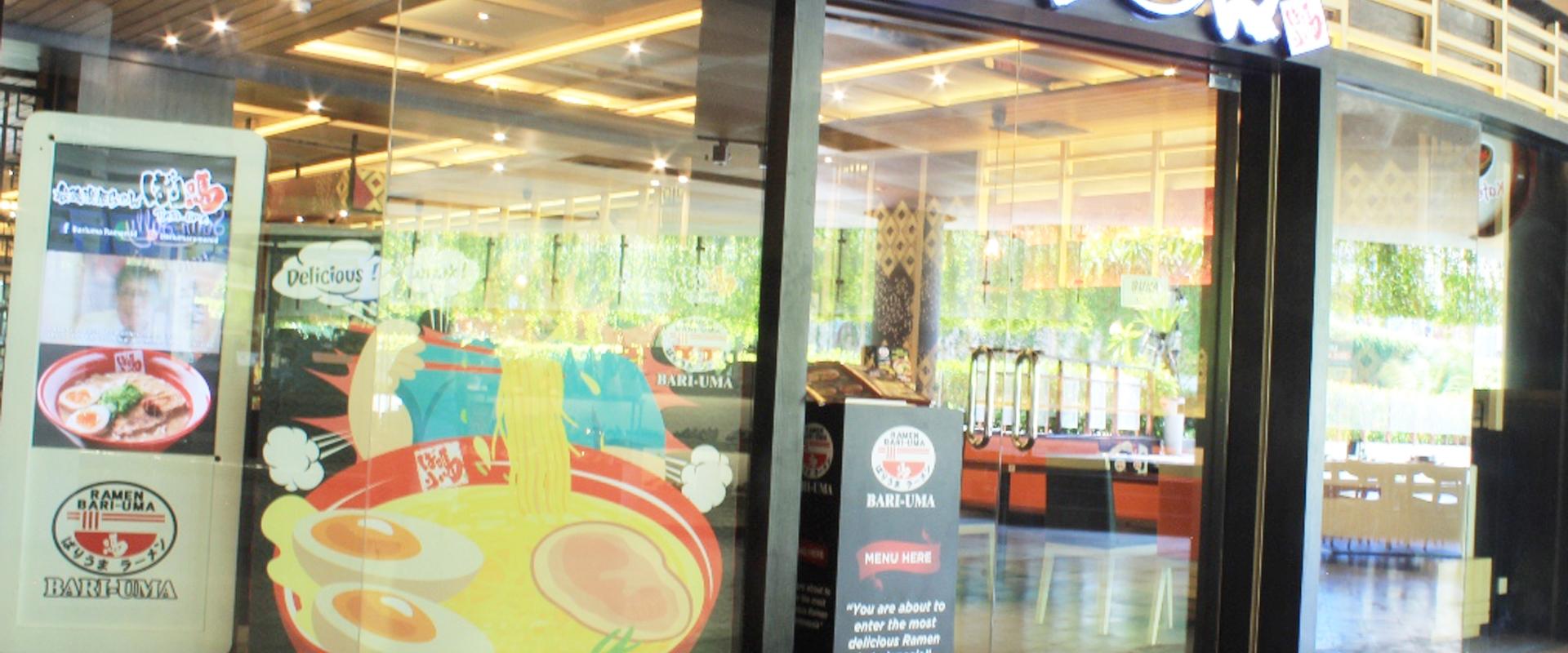 Bari-uma Ramen|Beachwalk Shopping Center | Beachwalk Bali